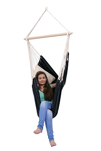 Brazilian Hammock Chair: Black: Byer of Maine