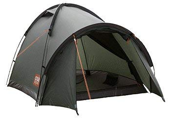 Crua Duo Max 3 Person Waterproof Dome Tent With Aluminum Frame: Green