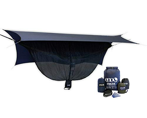 ENO OneLink Shelter System with Hammock, Straps, Bug Net & Rain Tarp