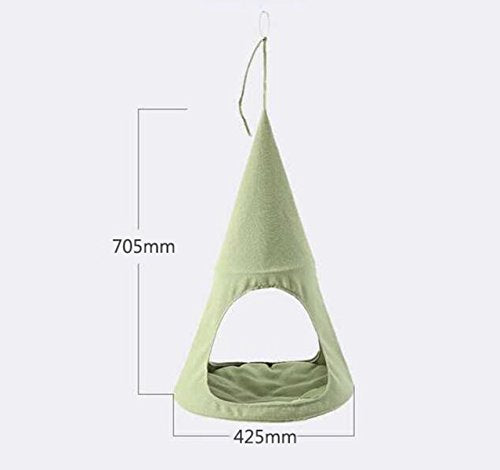 ALXDR Cat Hammock Hanging Bed: Mint Green