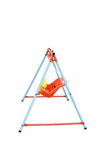 HooKung Toddler Swing with High Back Seat and Safety Belt