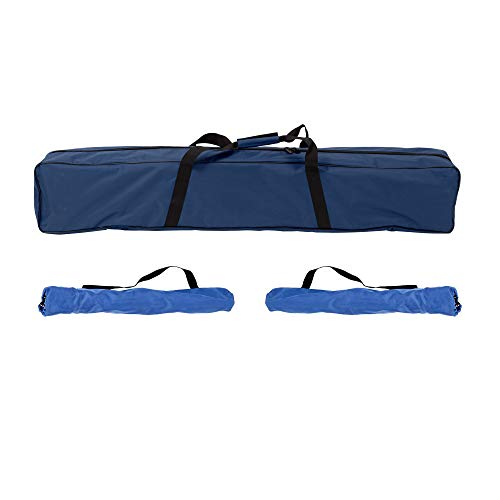 Mac Sports Collapsible Portable Hammock with 2 Camp Stool Combo