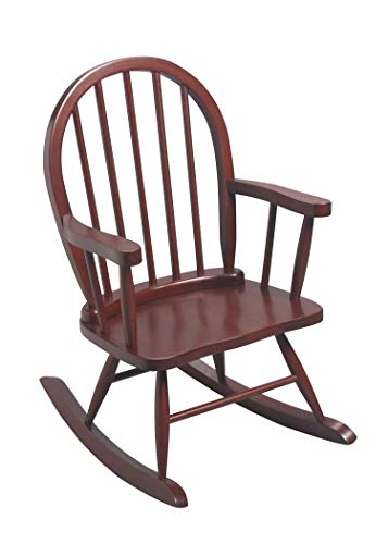 Children's Windsor Rocking Chair in Cherry Color