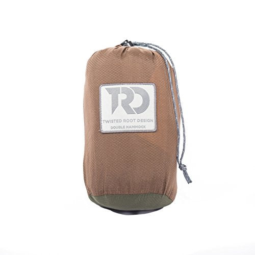 Twisted Root Hammock Twisted Double Hammock: Dark Khaki