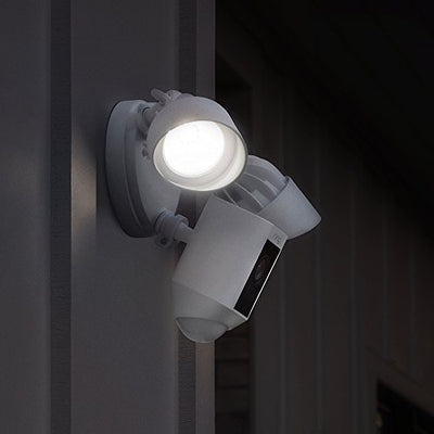 Ring HD Floodlight Security Camera Motion: White