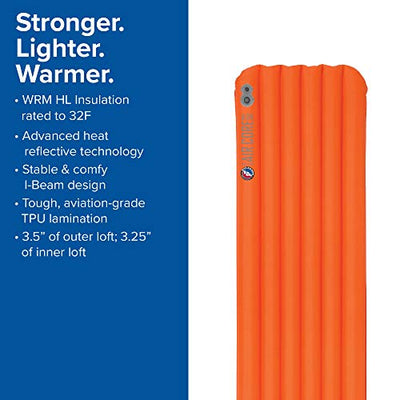Big Agnes Insulated Air Core Ultra Sleeping Pad: DW