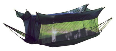 Texsport Wilderness Lay Flat Hammock with Mosquito Netting