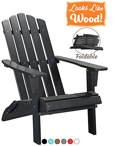 Folding Poly Adirondack Plastic Chair