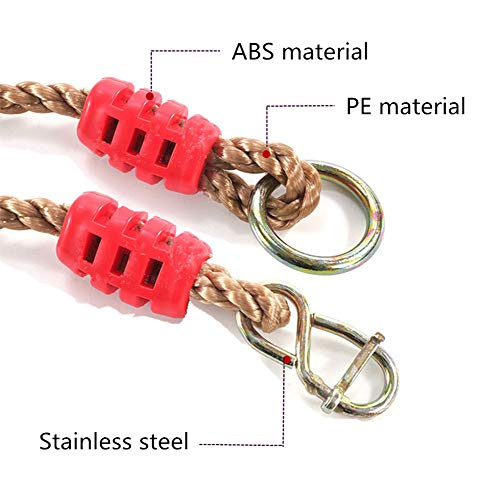 AOBOR Tree Swing Ropes- Length Adjustable Nylon Rope