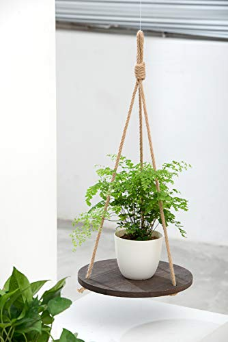 Macrame Hanging Plant Shelf