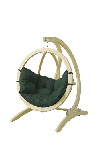 Byer of Maine Globo Kids Chair & Stand, Wood Construction: Green Agora