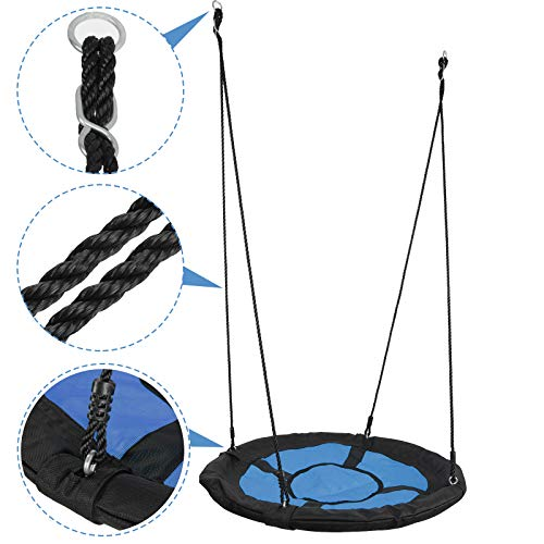 Waterproof Saucer Tree Swing Set For Kids Adults And