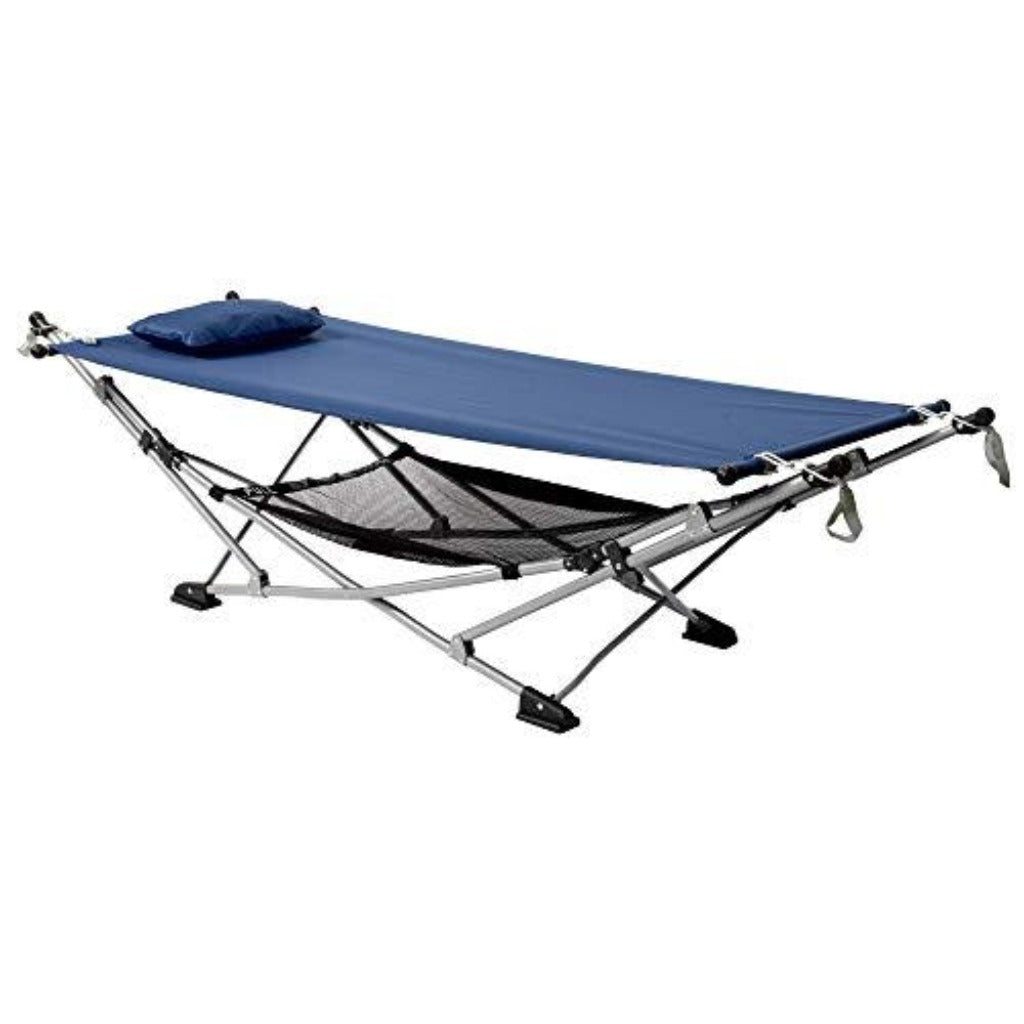 Mac Sports Folding Hammock: Trueblue