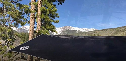 The Outdoors Way Hammock Tarp - 12 Foot Rain Fly for Extreme Waterproof Protection, Large Canopy is Portable and Provides Ideal Shelter for Your Camping Hammock Or Tent.