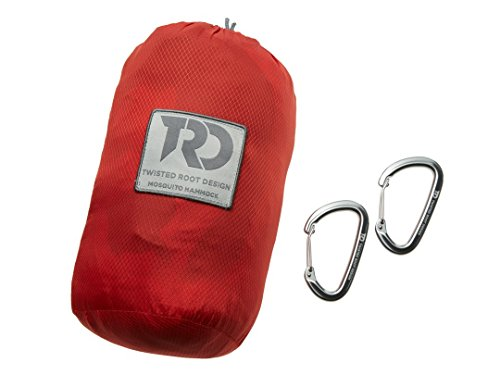 Twisted Root Hammocks Twisted Double Hammock: Red