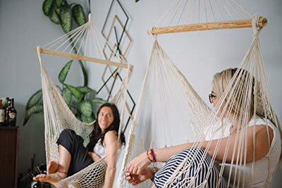 Hammock Hanging Cotton Rope Bedrooms Swing Chair Seat
