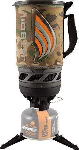 Jetboil Flash Camping Stove Cooking System, Camo
