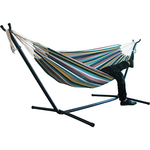 AOJIAN Portable Double Hammock Indoor Bedroom Yard Hammocks 2 Person Heavy Duty