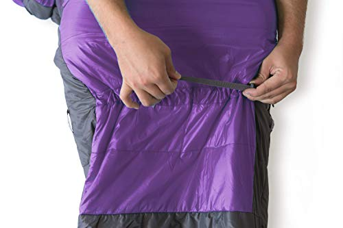Kammok Thylacine Camping Sleeping Bag: Violet Purple