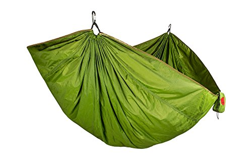 Grand Trunk Double Trunktech Nylon Hammock: Moss Green