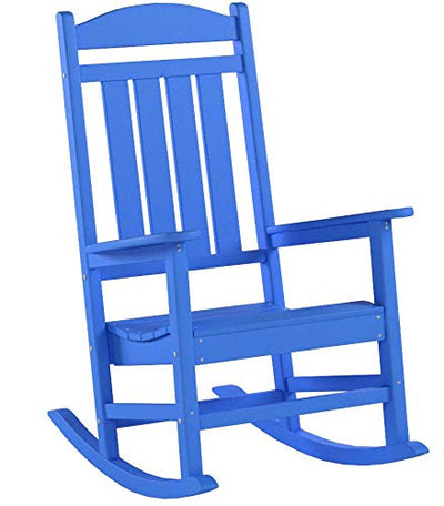 Presidential Outdoor Rocking Chair: Pacific Blue