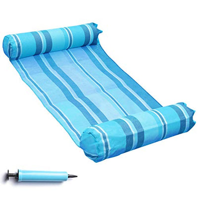 Hammock Float Portable Swimming Pool Lounge Inflatable