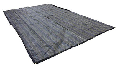 10'x16' 10oz Multi Mesh Tarp PVC Coated Poly Shade ROLL-Off