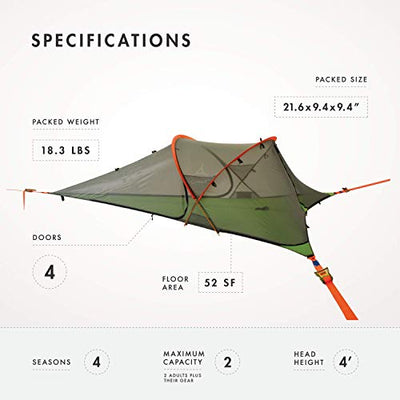 Connect Tree Tent: Dark Grey: Tentsile