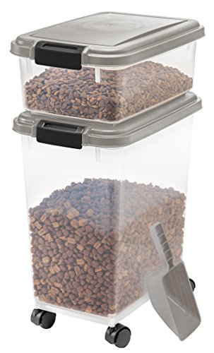 Piece Airtight Pet Food Storage Container Combo