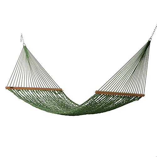 Hatteras Hammocks Large DuraCord Rope Hammock, Meadow
