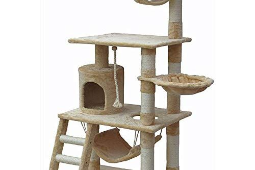 Cat Tree Condo Furniture: Beige