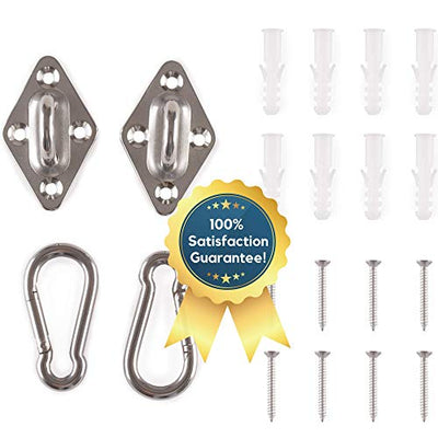 Amerigo Premium Hammock Hooks Best Hanging Kit for Your Relaxation