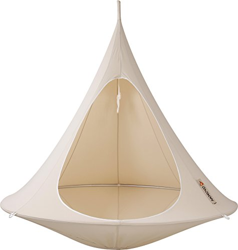 Natural White Double Cacoon Hammock by Vivere on Amazon