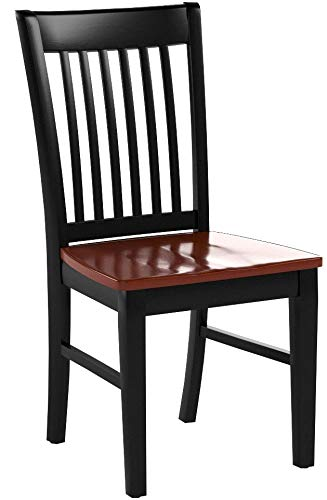Patio Dining Chair with Plain Wood Seat