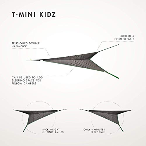 Tentsile T-Mini Kidz Tree Hammock :Black