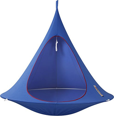 Double Cacoon Hanging Tent in Sky Blue