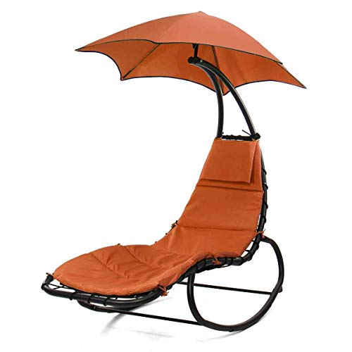 Hanging Chaise Hammock Lounge Swing