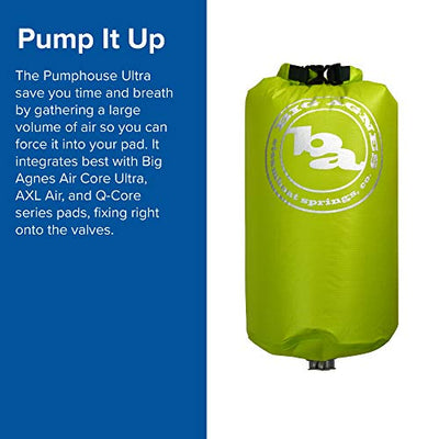 Big Agnes Pumphouse Ultra Multi-Use Sleeping Pad Pump
