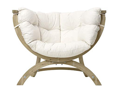 BYER OF MAINE, Globo Sienna Uno Chair: Natural