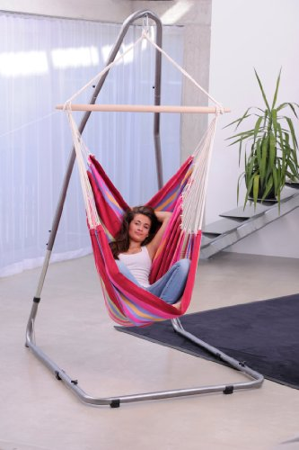 Luna Metal Hammock Chair Stand: Byer of Maine