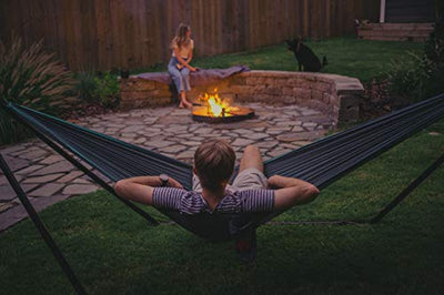 Grand Trunk Hangout Hammock Stand: Black | Perfect Stand for Outdoor Hammocks