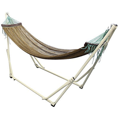 Portable Hammock with Foldable Metal Stand