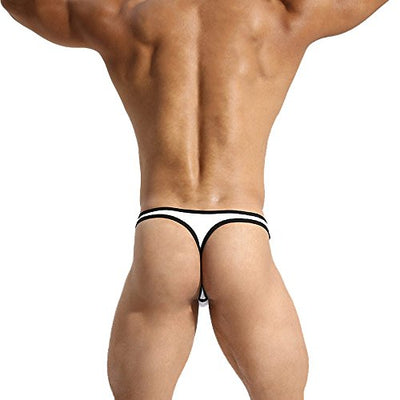 MuscleMate Premium Men's Thong Sexy Sport Comfort G-String: Red