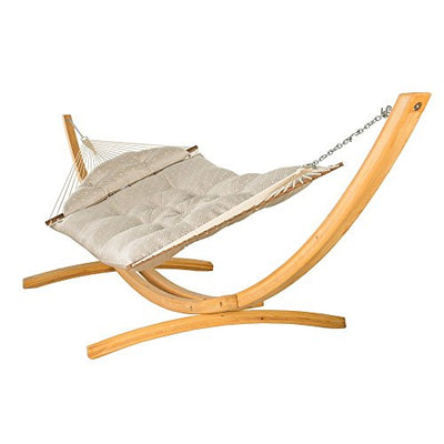 Hatteras Hammocks Large Tufted Hammock - Integrated Pewter