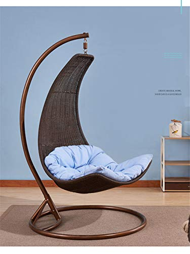 Secret night Crescent Moonchair Rattan Hanging Chair