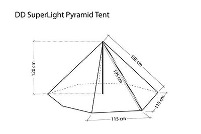 Pyramid Tent by DD Hammocks