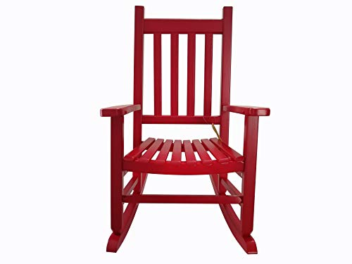Durable Wooden Kids Rocking Chair