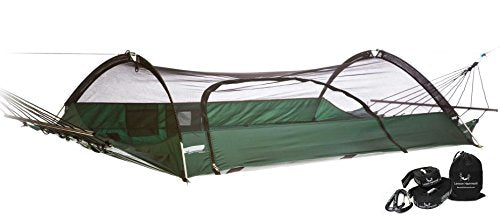 Lawson Hammock Forest Green Hammock & Strap Bundle