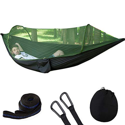 BAIQITONG, Camping Hammock,with Mosquito Net