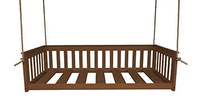 DutchCrafters Amish Mission Hanging Daybed (Paint - White, Full Bed)